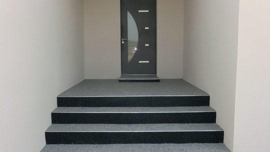 Marches d'escalier antidérapantes pour l'extérieur