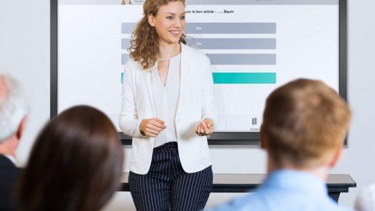 Les tableaux blancs interactifs pour la classe