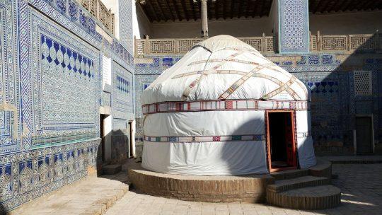 Où dormir durant un circuit sur mesure en Ouzbékistan ?